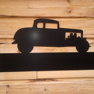 Silhouette Sign: 32' Ford 5 Window